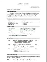 Sap Basis Sample Resume Cover Letter For Sap Basis Consultant Sap Consultant