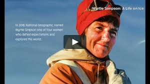 Myrtle Simpson: A Life on Ice (Tour Edit) - Promo Clip A on Vimeo