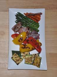 r u b s grilled vegetables with balsamic maple dressing