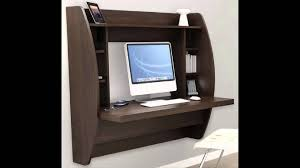 contemporary home office furniture. beautiful wall mounted computer desk youtube in mount to u2013 contemporary home office furniture