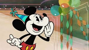 """MICKEY MOUSE SHORTS """"The Birthday Song ..."""