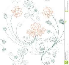 Lotus Pattern Simple Ideas