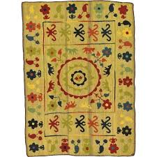 red and green area rugs area rugs one of a kind hand knotted wool gold red red and green area rugs