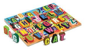 melissa doug jumbo abc chunky puzzle