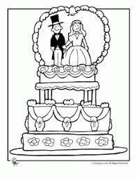 Een Leuke Kleurplaat Trouwen Met Kinderen Wedding Coloring