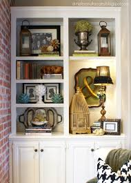How to achieve a well-styled bookcase - decor and layout- need this!