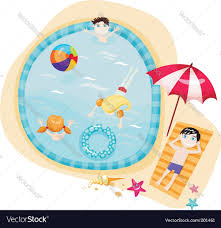Brilliant Swimming Pool Vector Image G With Models Ideas