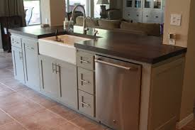 Farmhouse Sink Cabinet Kitchen Islands With Farmhouse Sink Chic Granite Countertops