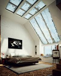 Attic Bedroom Skylight Designs