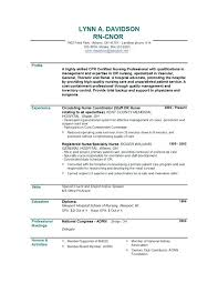 Free Rn Resume Template Resume Templates Free Rn Cv Templates ...