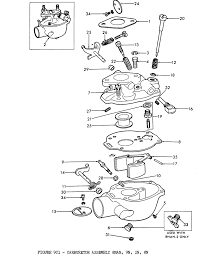 ford 2n 8n 9n carburetor free ford tractor manuals online at 8n Ford Tractor Diagrams