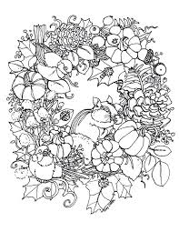 Wreath Coloring Pages Merry A Crafting The Word Of God Page