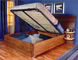 diy platform bed. End-opening DIY Storage Bed Diy Platform