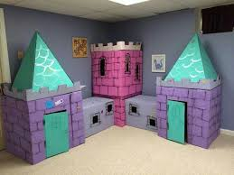 Decorating Cardboard Boxes 100 Super Fun Cardboard Box Projects For Kids Kids castle 98
