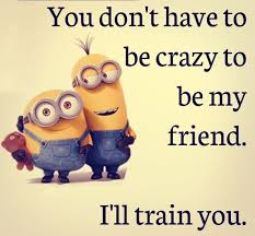 Funny Friendship Quotes Awesome Funny Friendship Quotes You Don't Have To Be Crazy BoomSumo Quotes