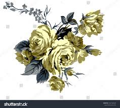 New Design Floral A Beautiful Vintage Floral Composition For Creating New