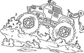 monster truck coloring pages. Perfect Pages Free Monster Truck Coloring Pages To Print  Printable Intended Monster Truck Coloring Pages K