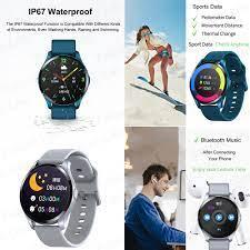 New Smart Watch T88 Full Circle Full Touch Đồng Hồ Thông Minh Cảm ứng Nhiệt  độ