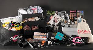 our makeup kit contains an ortment of professional makeup s from kryloan cinema secrets mehron makeup forever