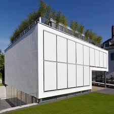 Energy Optimized House With Roof Terrace Louver Windows Exterior - Shutters window exterior