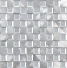 china supplier low square aluminum glass mosaic tiles with widely