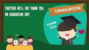 Thank You Teachers Song For Kids Kindergarten Graduation Songs