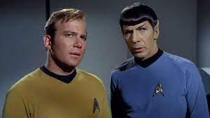 Captain Kirk und Mr. Spock ...