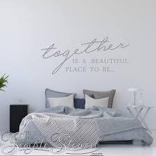 romantic master bedroom wall decor