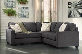 Rent Living Room Furniture Rent Signature Design Alenya 2 Piece Sectional Charcoal Living