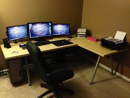 delighful modern l shaped desk ikea this is geously designed best gaming computer galant small large