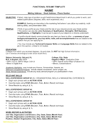 Combination Resume Format New Bination Resume Template For Stay At