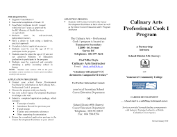 Culinary Resume Examples Free Resume Templates