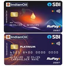 sbi indian oil introduced contactless