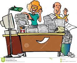 messy desk clipart. Brilliant Desk Couple And Messy Desk And Clipart
