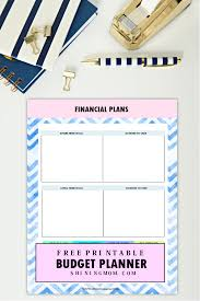 Free Budget Planners The Ultimate Free Printable 2018 Budget Planner You Need