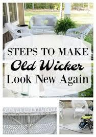 stupendous tricks wicker furniture