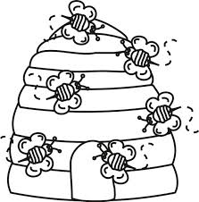 Small Picture bee coloring page vonsurroquen
