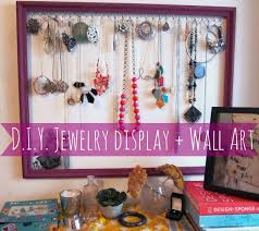 Diy Necklace Holder Diy Necklace Holder Save The Kales