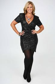 plus size long black dresses black all over sequin wrap dress with short sleeves plus size 14 16