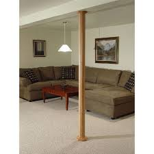 Decorative 4x4 Post Wraps Pole Wrap 96 In X 12 In Mdf Basement Column Cover 87128 The
