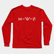 red flash equation shirt tessshlo
