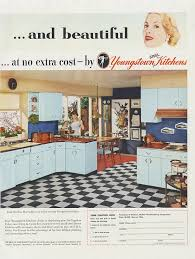 1950S Interior Design Fascinating AllSteel Youngstown Kitchens 48s Ad Mid Century Home Interior