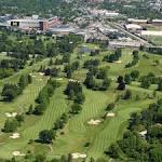 University of Michigan Golf Course in Ann Arbor, Michigan, USA ...
