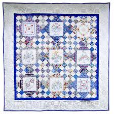 Embroidered Basket Quilt – Q is for Quilter & EmbBasketQuilt-1 Adamdwight.com