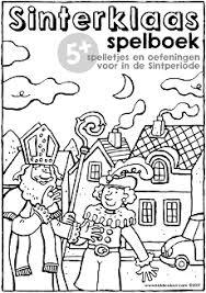 Sinterklaas Werkboekje Groep 1 2 Kiddikleurplaten