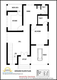 home plan for 600 sq ft elegant kerala home plan design remarkable house plan in 600