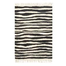huilang zebra stripe wool rug am pm