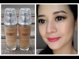 loreal true match lumi foundation first impression review