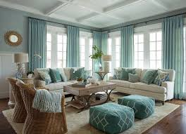 Living Room Turquoise Decoration