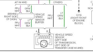 1999 chevy tahoe speed sensor transmission problem 1999 chevy should be on driver side of tranny two wire connector the wiring colors are in the diagram